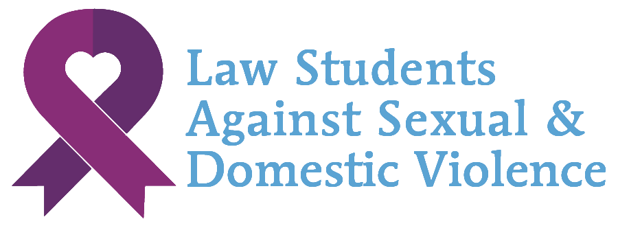 Logo for Law Students Against Sexual & Domestic Violence