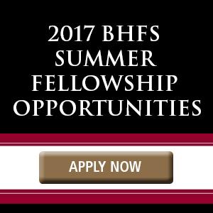 BHFS Summer Fellowship
