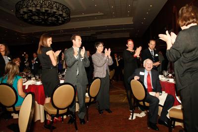 Standing ovation for Professor Emeritus Howard Rosenberg