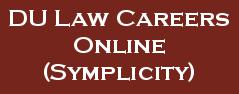 DU Law Careers Online (Symplicity)