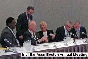 Int'l bar assn boston annual meeting