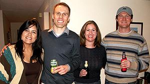 Katia, Justin, Amanda, Kevin
