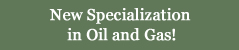New Oil and Gas Specialization!