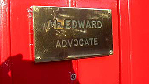 November 2005 - David Edward, Advocate