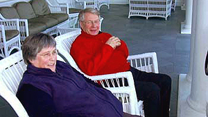 April 7, 2005 - David & Elizabeth Edward in Estes Park, CO