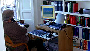November 19, 2005 - David Edward at work
