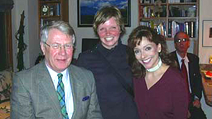 April 6, 2005 - David Edward meets with DU Law Students