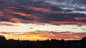 Springtime 2006 - This is the Edinburgh skyline, photographed by Judge Edward