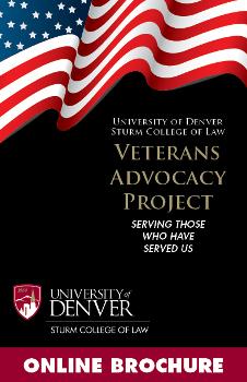 Veterans Advocacy Project Brochure