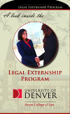 Legal Externship Program brochure
