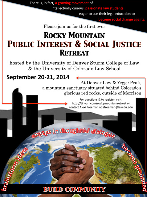 Rocky Mountain Public Interest and Social Justice Retreat