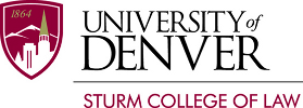 University of Denver Sturm College of Law Logo