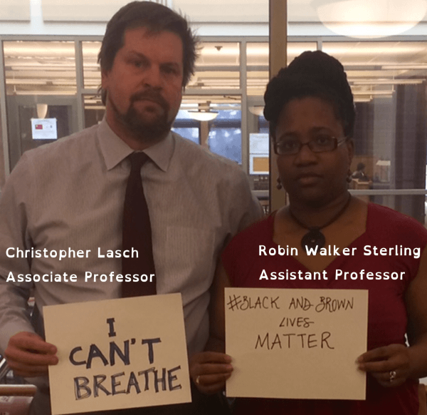 Chris Lasch and Robin Walker Sterling