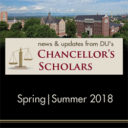 Chancellor's Scholars: News & Updates Spring 2018