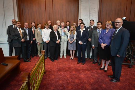 Pro Bono Awards Raph Carr Judicial Center