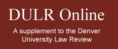 DU Law Review | DULR Online