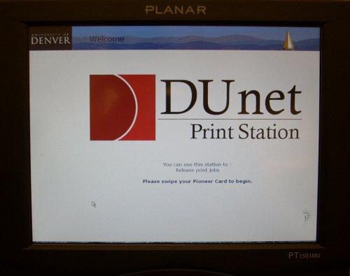 DUNet Release Station