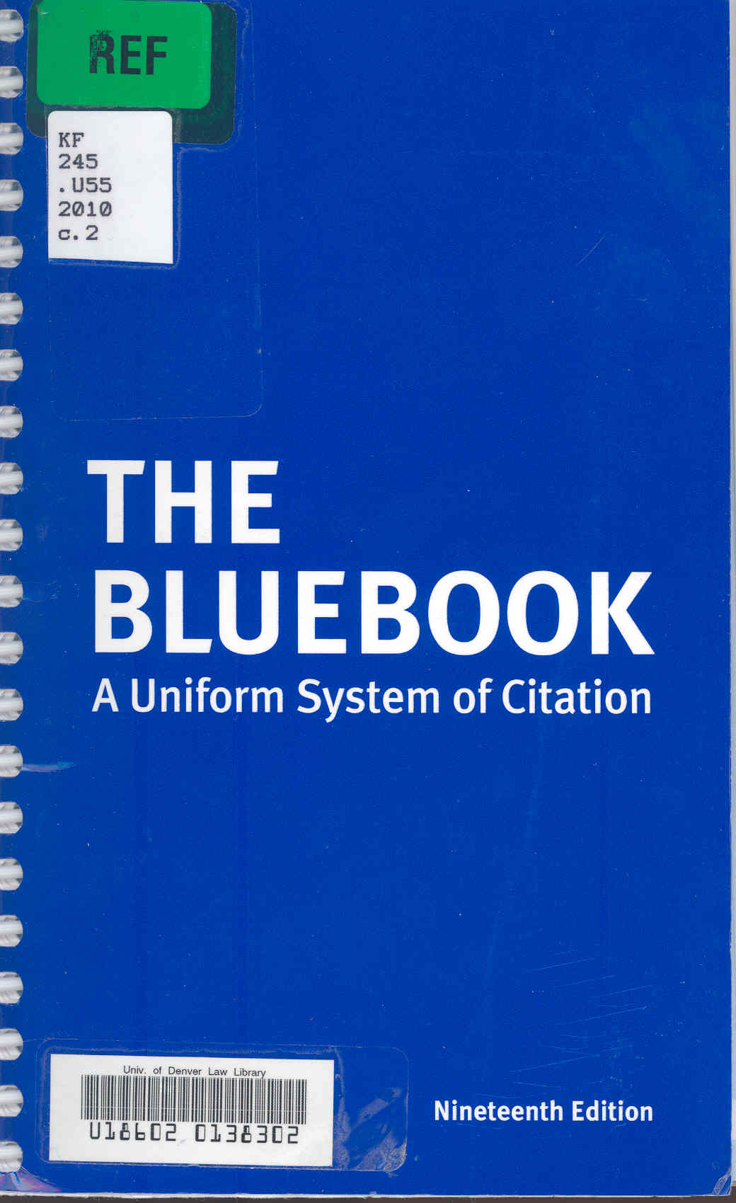 bluebook citation for committee reports Government publications come from many different sources and so can be particularly challenging to cite the mla handbook for writers of research papers the mla handbook recommends.