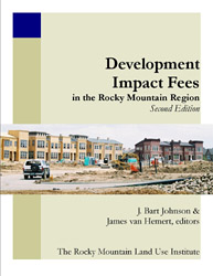 Development Impact Fees Book Cover