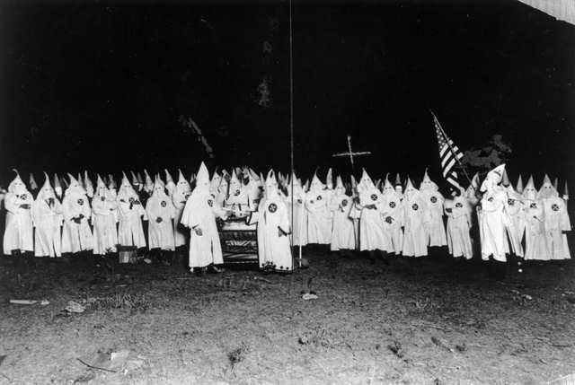 KKK rally - 1925