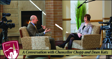 Behind the Scenes with Chancellor Chopp and Dean Katz: A Conversation
