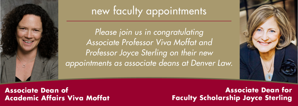 New Faculty Appointments