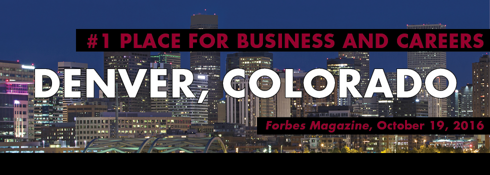 #1 Place for Business and Careers: Denver, Colorado