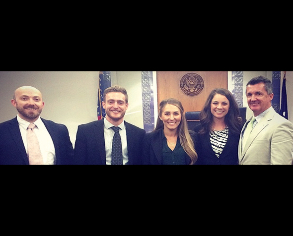 Center for Advocacy Trial National Trial Team winners