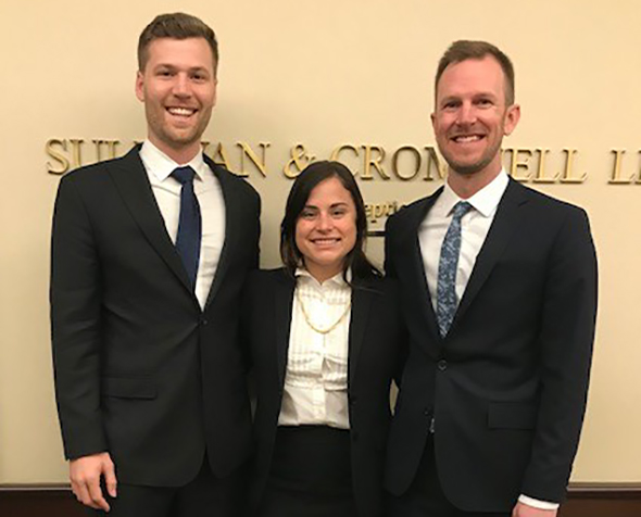 Denver Law student winners of LawMeet 2018
