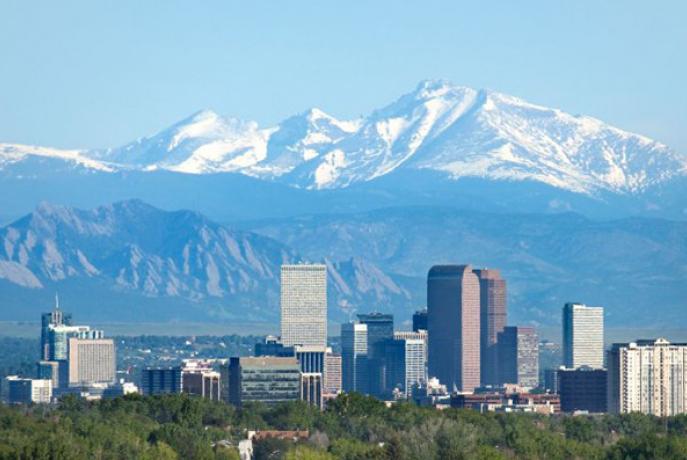 Denver, Colorado and Rocky Mountains